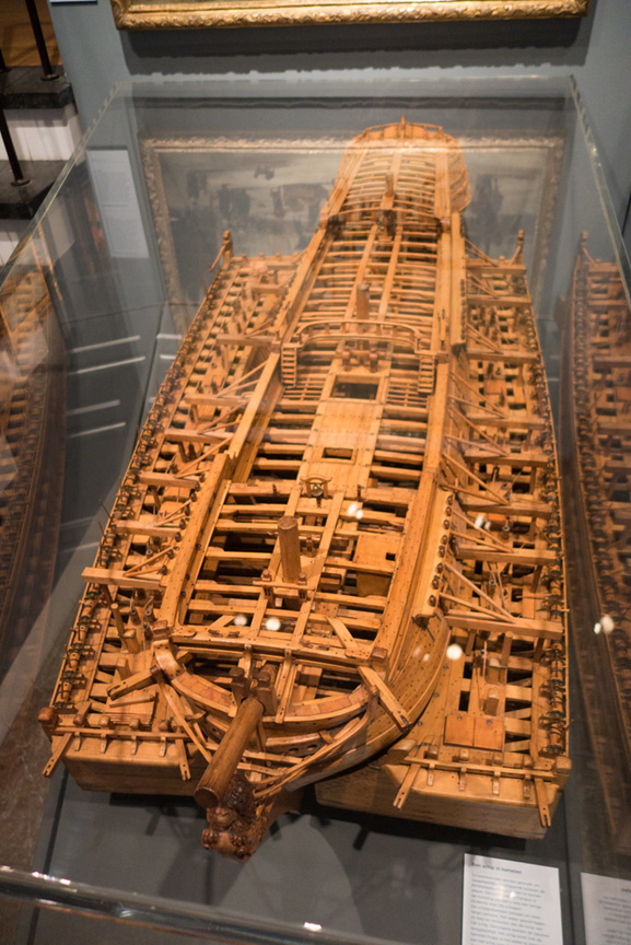 If we replace all of this wood to restore this ancient ship model, is it still the same model or is it something new?