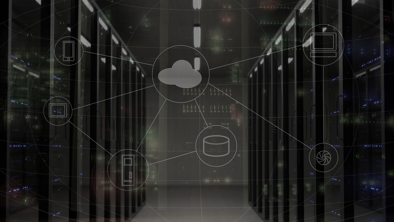 There are a myriad of backup server options from software on our computer to data centers like this one to the cloud.